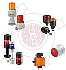 Optisch-akustische Signalgeräte